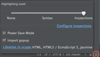 IntelliJ Configure inspections
